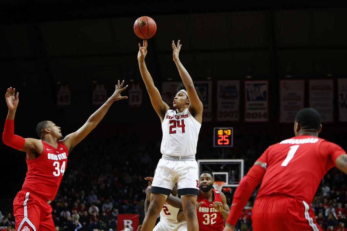 NCAA Basketball: Ohio State at Rutgers