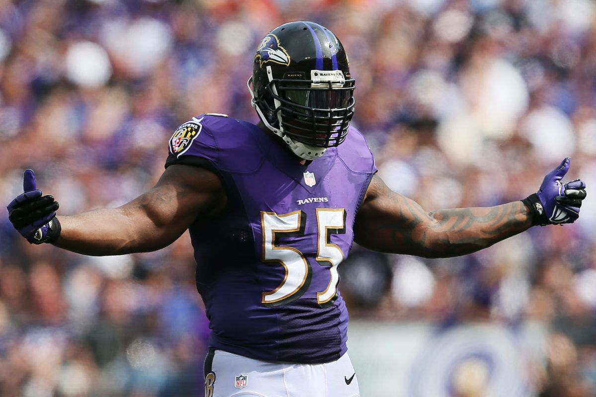 Terrell Suggs is up for the challenge.