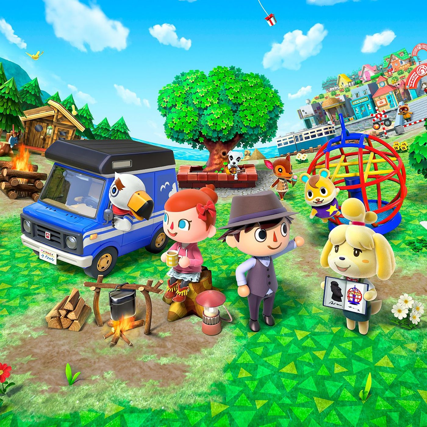 Animal Crossing is a dystopian hellscape - The Verge