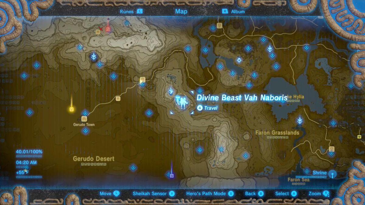 Zelda Breath Of The Wild Champions Ballad Guide