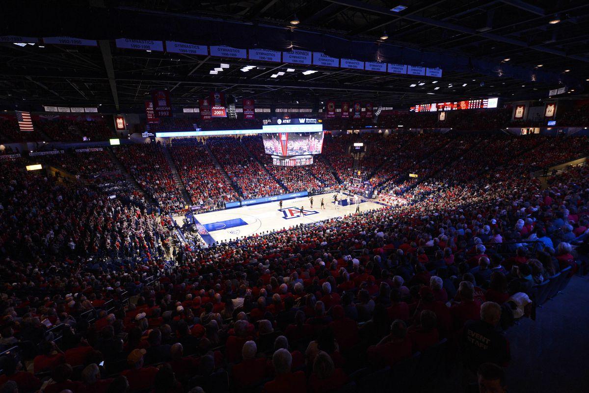 NCAA Basketball: Southern California at Arizona