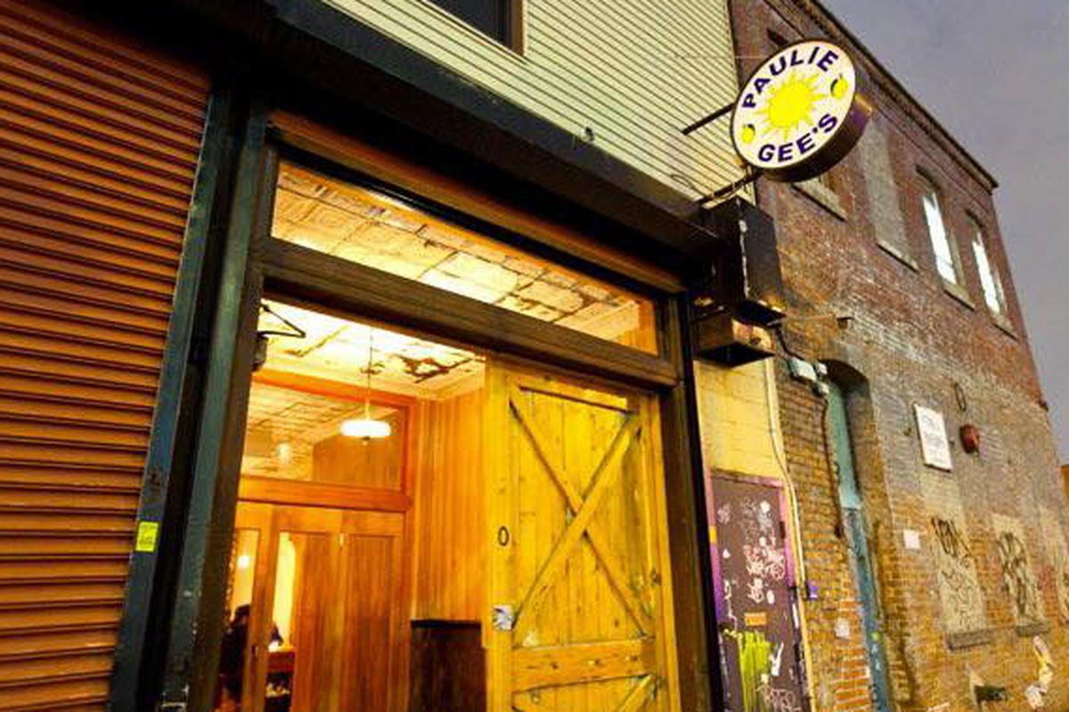Paulie Gee's in Brooklyn.