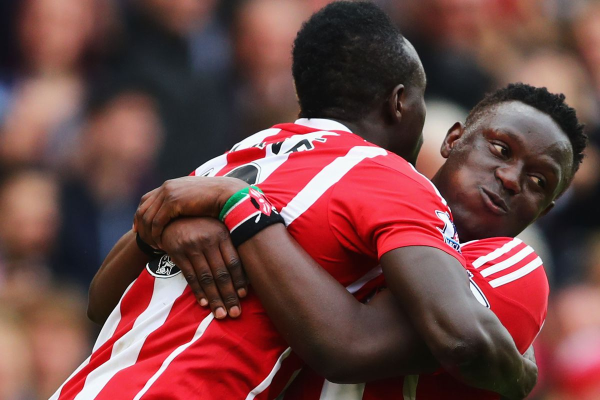 Both Sadio Mané (left) and Victor Wanyama will need to be replaced this summer