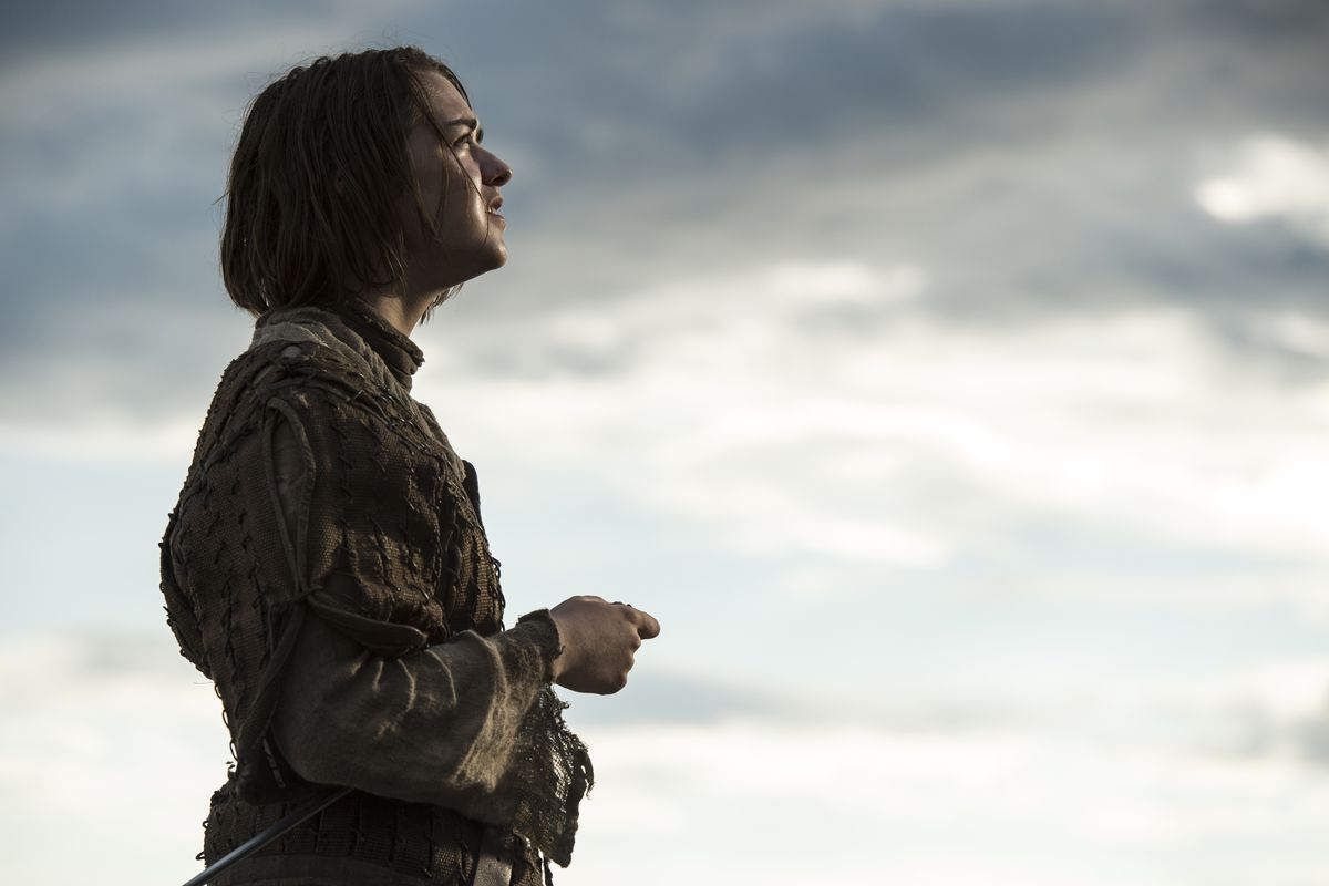 Arya (Maisie Williams) may repeat her list of names every night, but she seems less and less likely to act on it.