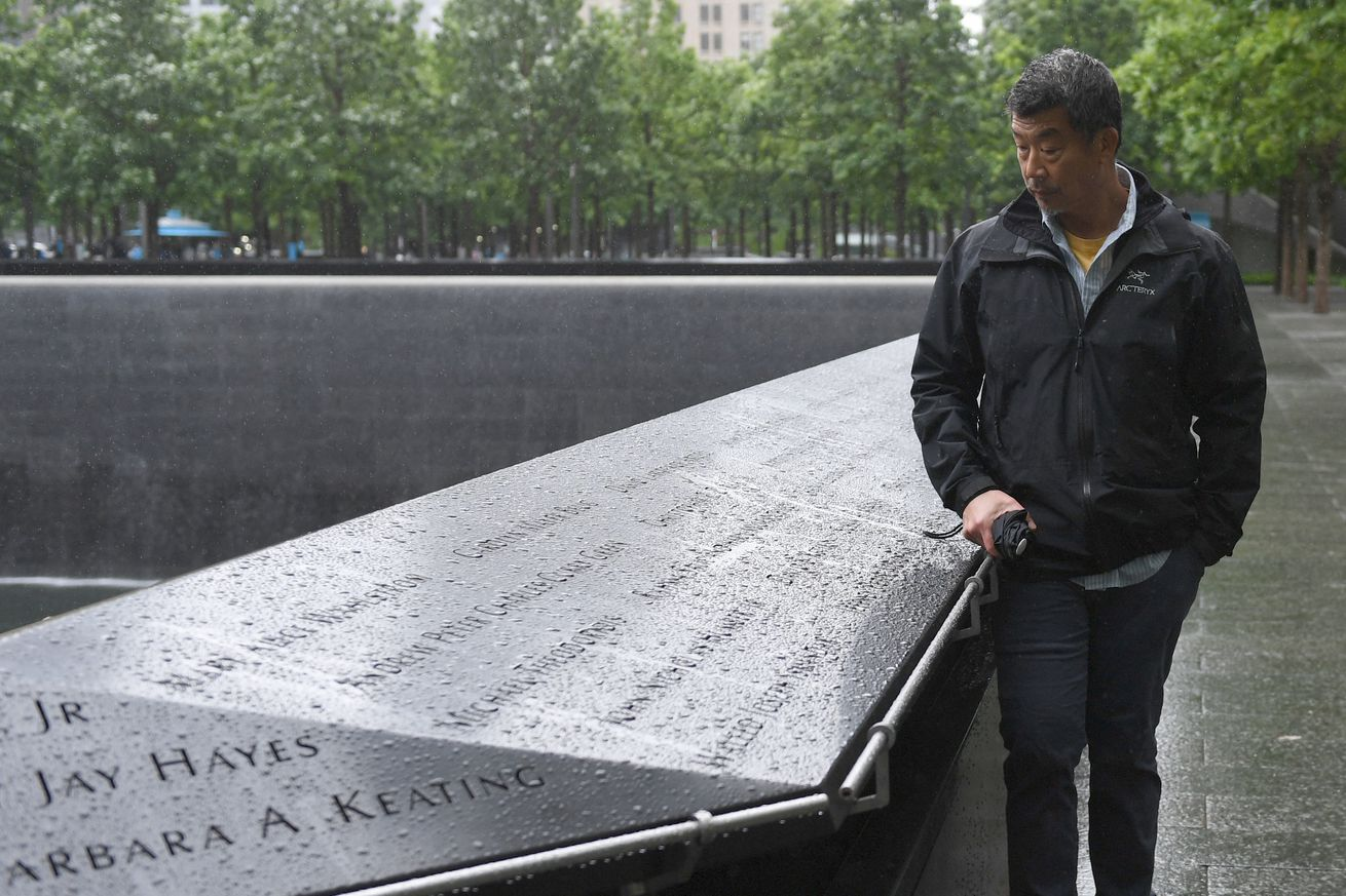 US-ATTACKS-9/11-ANNIVERSARY-PARAMEDIC