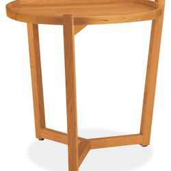 Jax 19r 18h end table in cherry. Was $249; Now $169.99