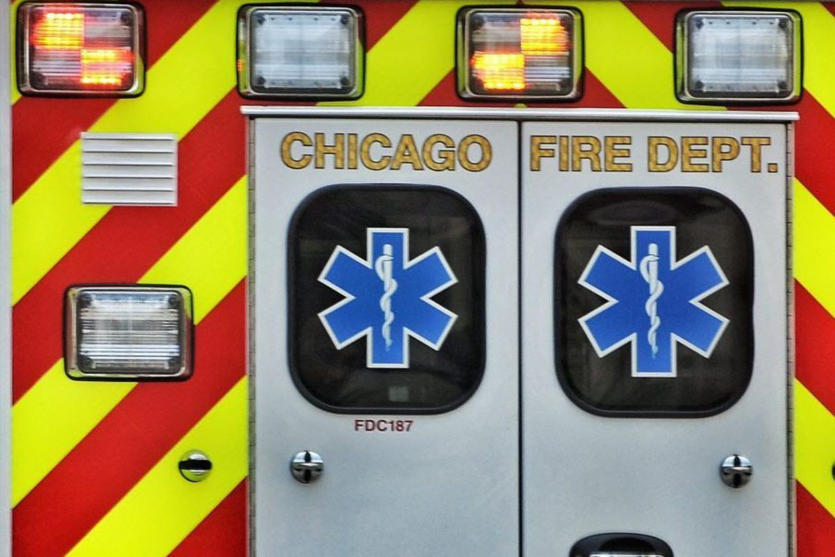Man jumping from overpass struck by vehicle on Dan Ryan