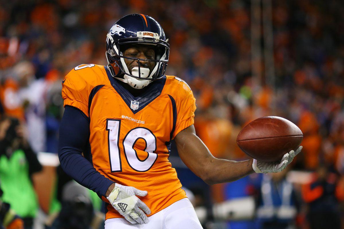 Broncos Roster 2017 Emmanuel Sanders Mile High Report