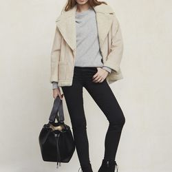 """Keppel coat, <a href=""""https://www.thereformation.com/products/keppel-coat-frenchie"""">$178</a>"""