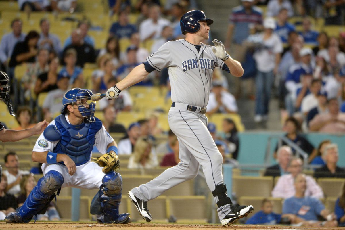 One way or another, Padres third baseman Chase Headley will get paid this offseason.