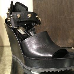 Balenciaga sandals, $398