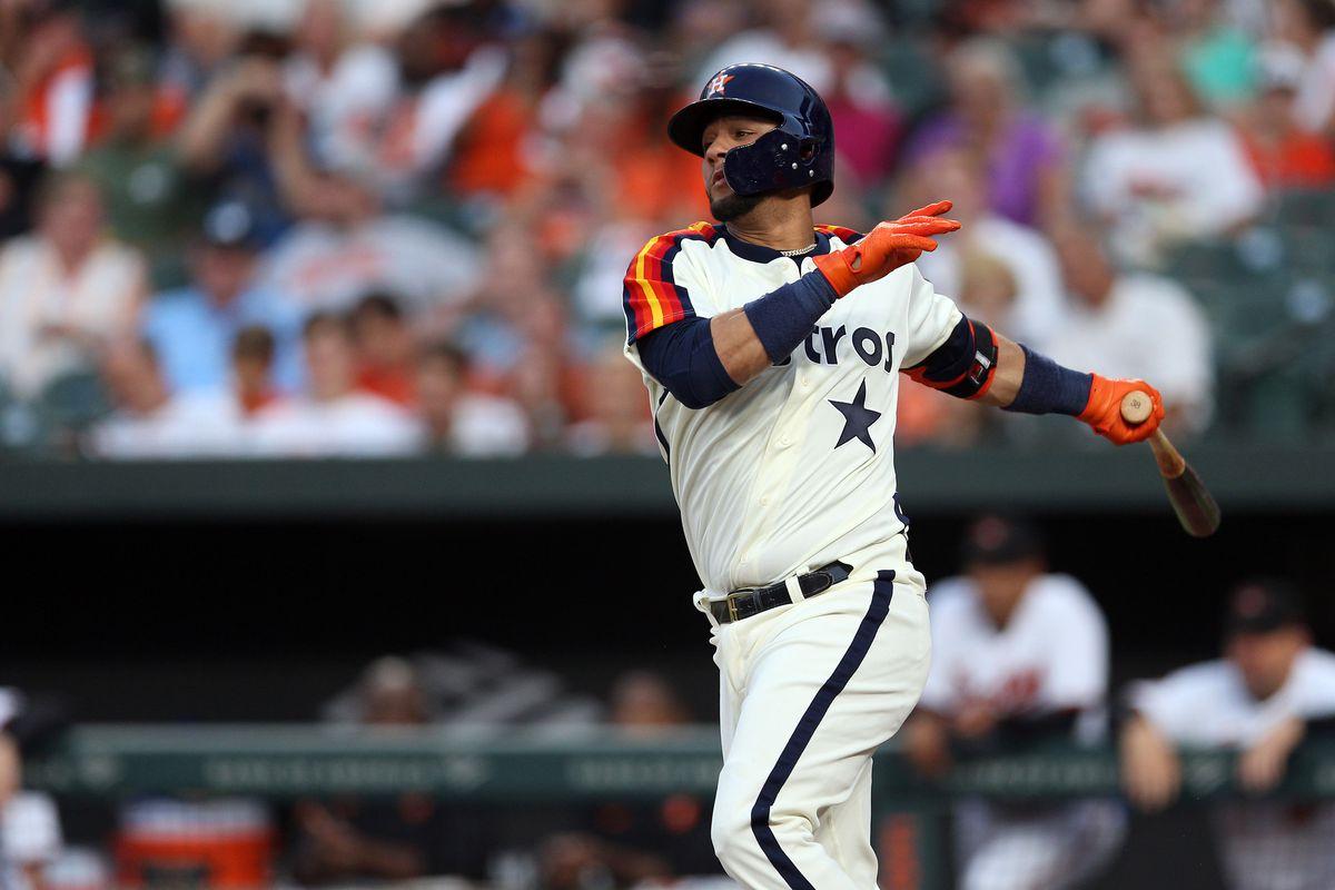 Houston Astros v. Baltimore Orioles