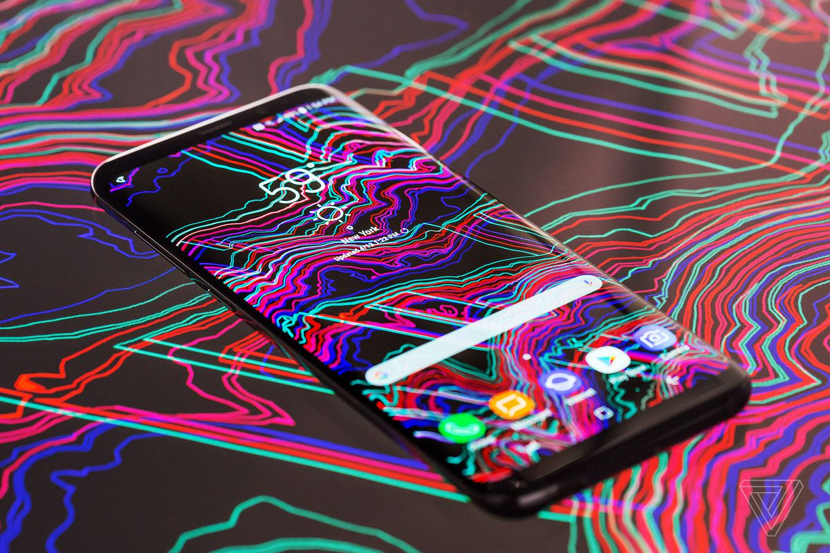 Samsung Galaxy S8 Review Ahead Of The Curve Verge Ideas About Printed Circuit Board On Pinterest Water Transfer Film Overall Apart From Fingerprint Scanner Theme S8s Hardware Is Polish Both Literally And Figuratively Its A Glossy Metal Glass