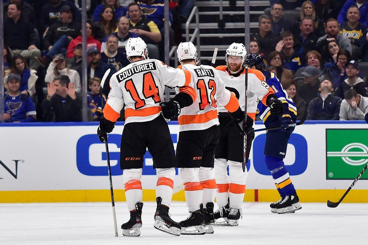 NHL: Philadelphia Flyers at St. Louis Blues