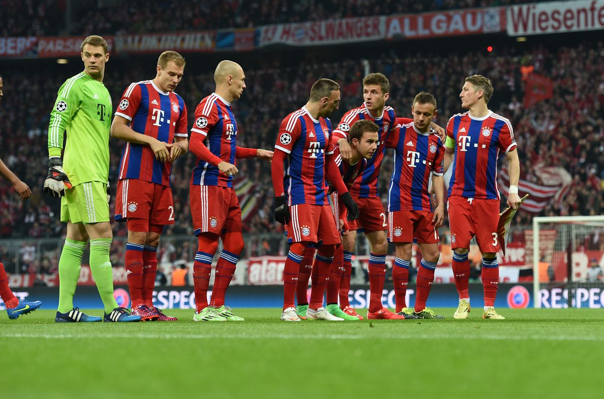 Fussball CHL 14/15 Achtelfinale: FC Bayern Muenchen - FC Schachtar Donezk