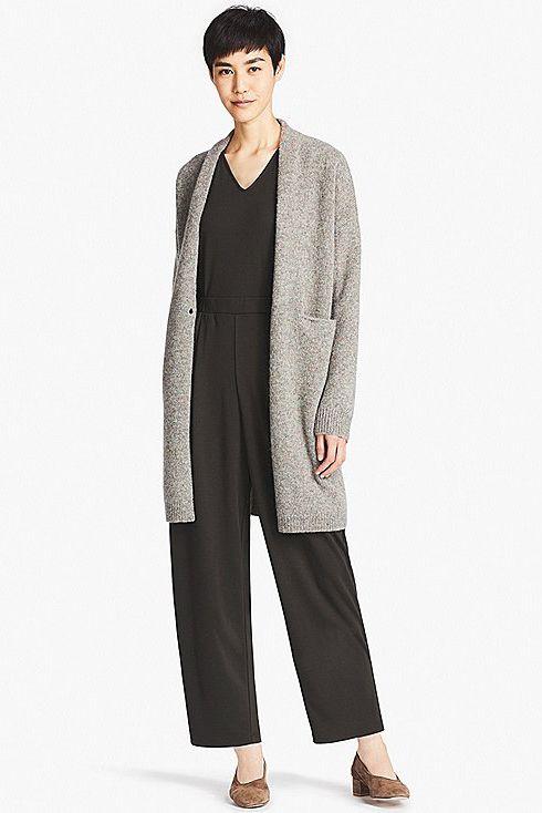 a sweater coat