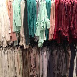Women's shirts, $60