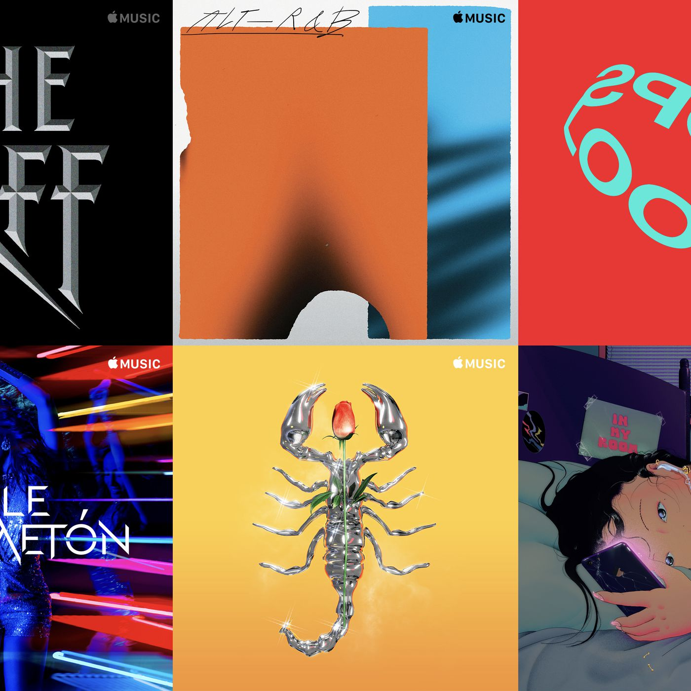 Apple Has Been Quietly Hiring Iconic Artists To Design Apple Music Playlist Covers The Verge
