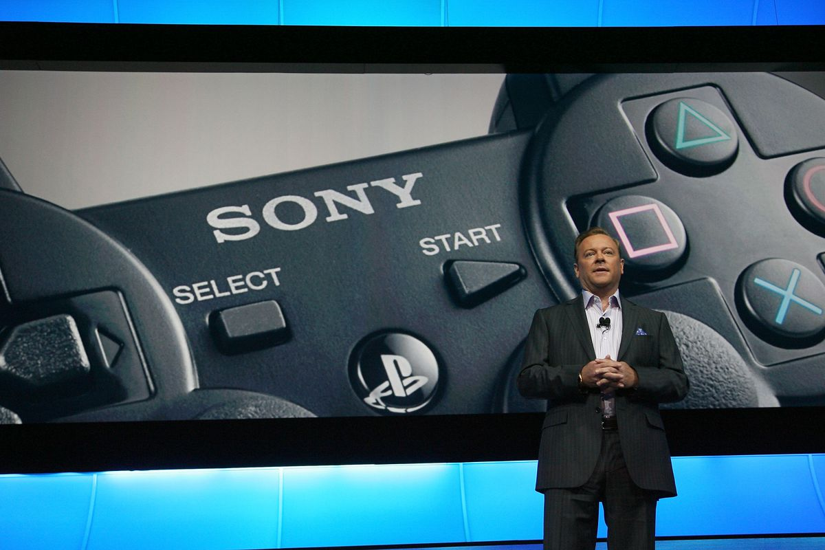 President and CEO of Sony Jack Tretton a