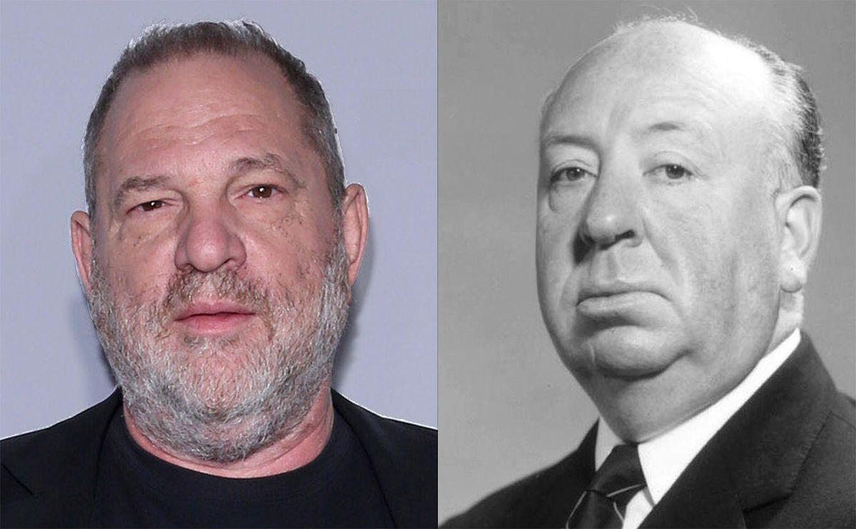 Harvey Weinstein and Alfred Hitchcock