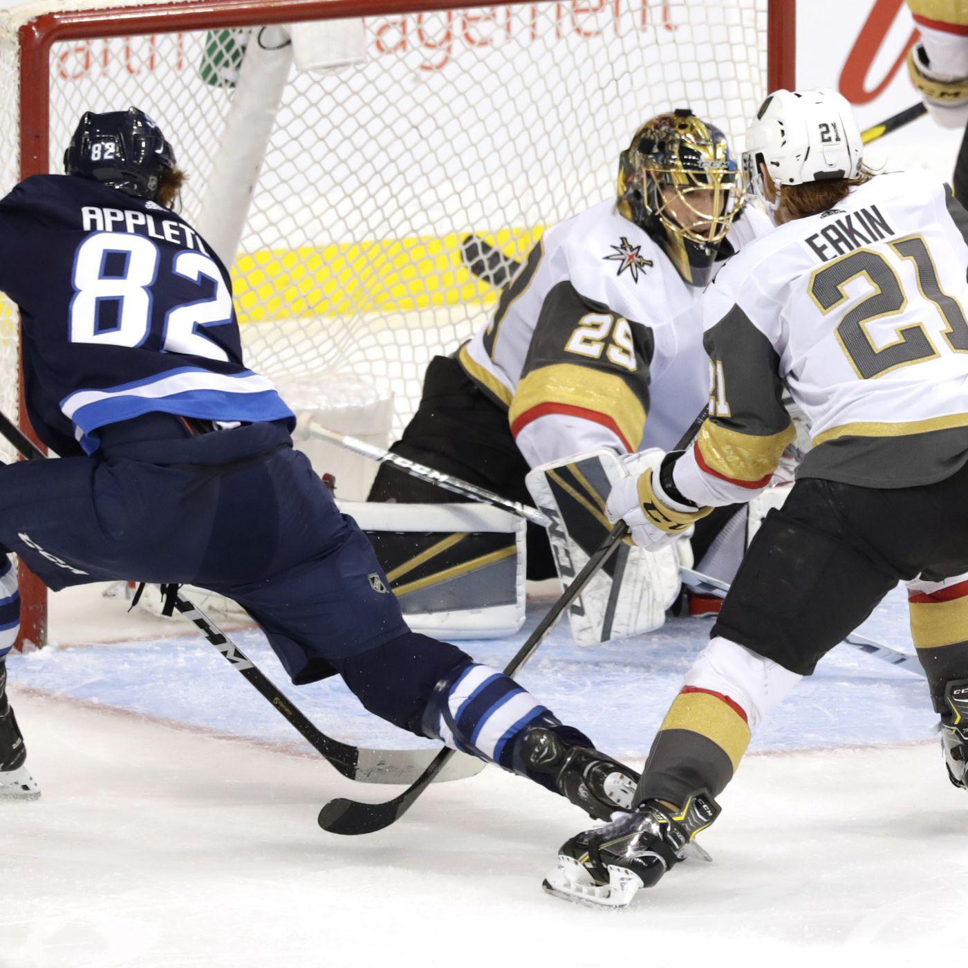 697f7ca5701 Preview: Winnipeg Jets vs Vegas Golden Knights - Arctic Ice Hockey