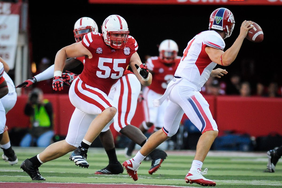 Baker Steinkuhler will anchor the 2012 Nebraska defensive line. Will he be better, worse, or the same as he was in 2011?