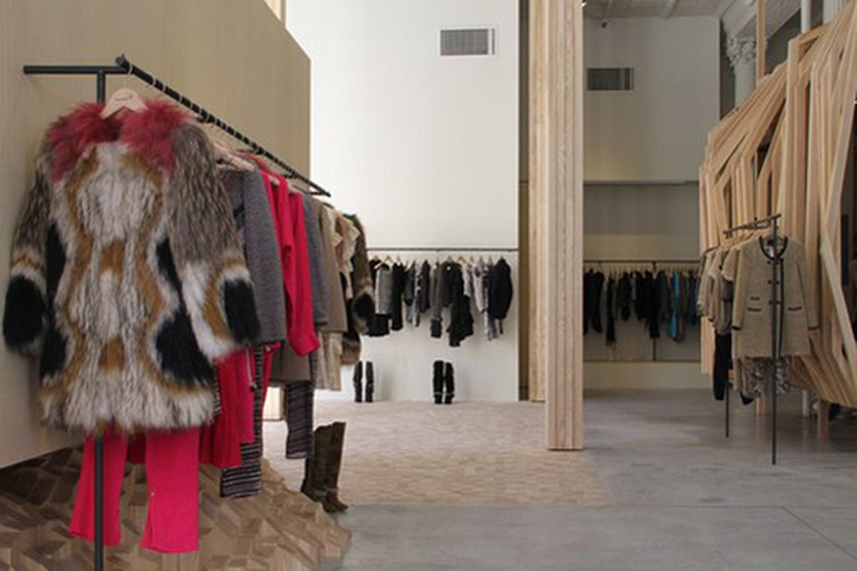 """Image via <a href=""""http://www.wwd.com/retail-news/isabel-marant-opens-new-york-store-3028958?browsets=1270832621093"""">WWD</a>"""