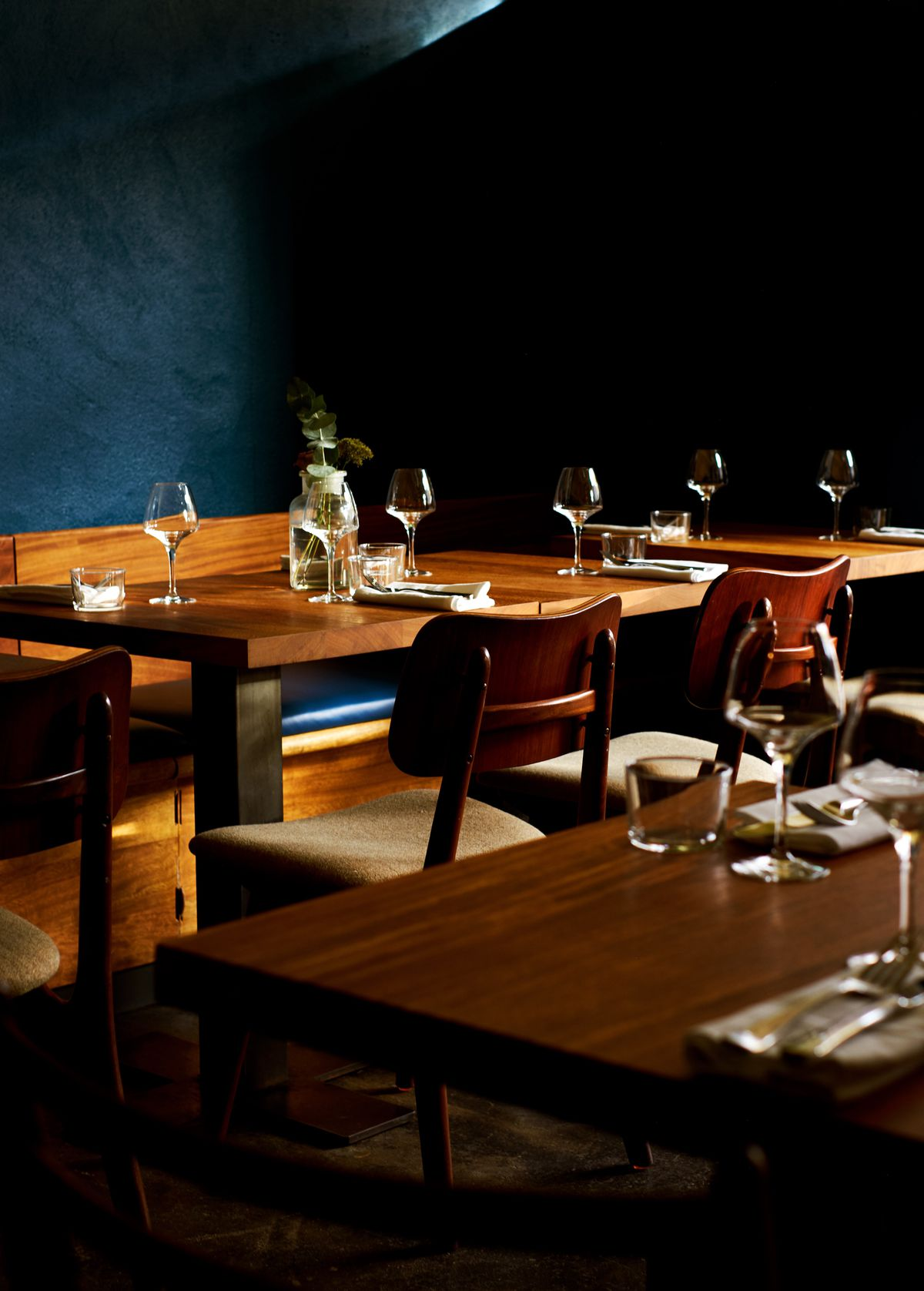 The dining room at Levan, Peckham's newest, coolest restaurant from the team behind Salon in Brixton