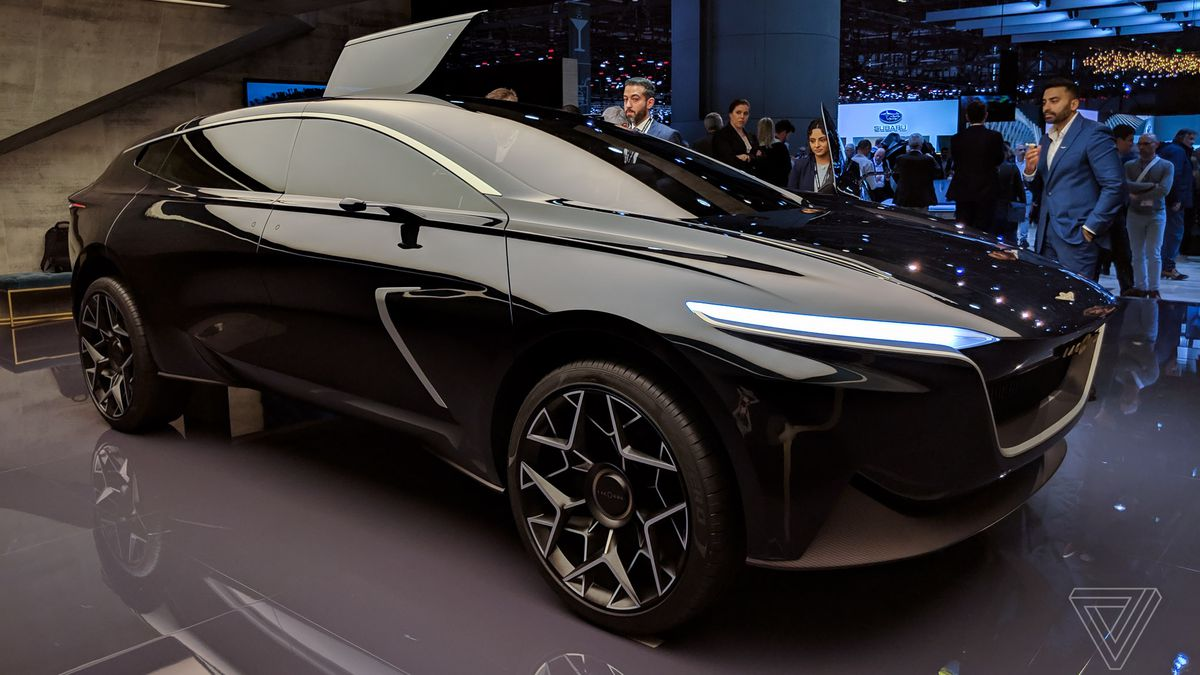 aston martin lagonda all-terrain concept at the geneva motor show