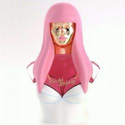 When you have an album called Pink Friday, using the same name for your fragrance seems like a no-brainer. Nicki went with the most obvious branding of the celebrity fragrance crop, making a creepy-android mold of her own head, complete with pink wig.