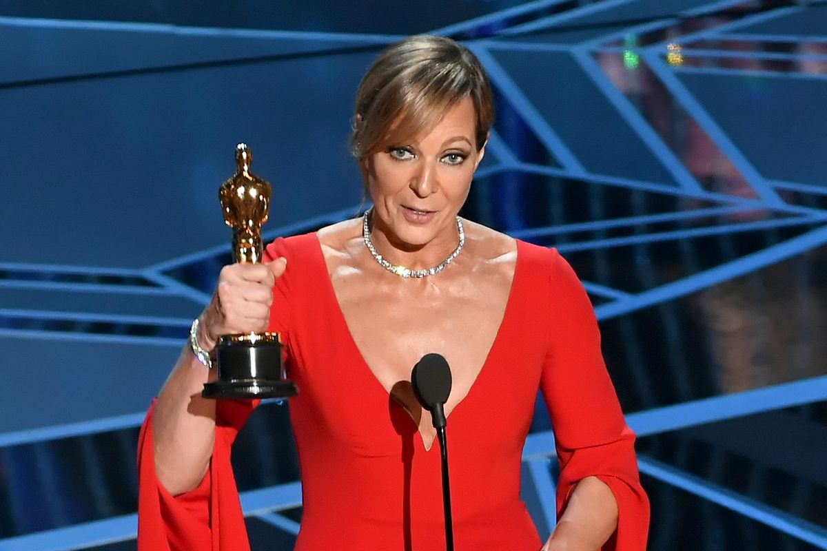 Allison Janney wins Oscar for playing Tonya Harding's harsh mother