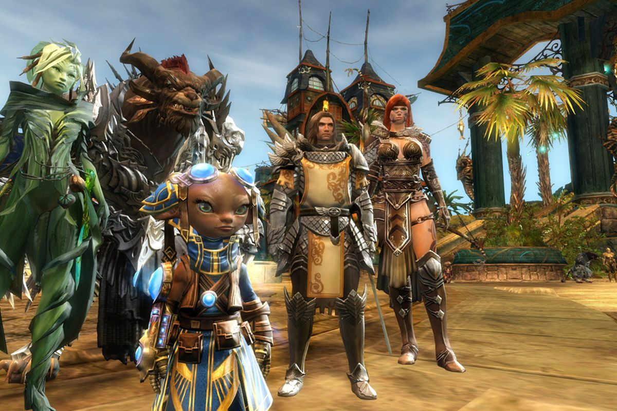 Guild Wars 2 will allow players to visit other worlds with guesting