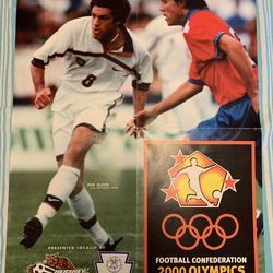 The poster of Ben Olsen Brandon Smith brought with him to Lehigh University in the fall of 2000
