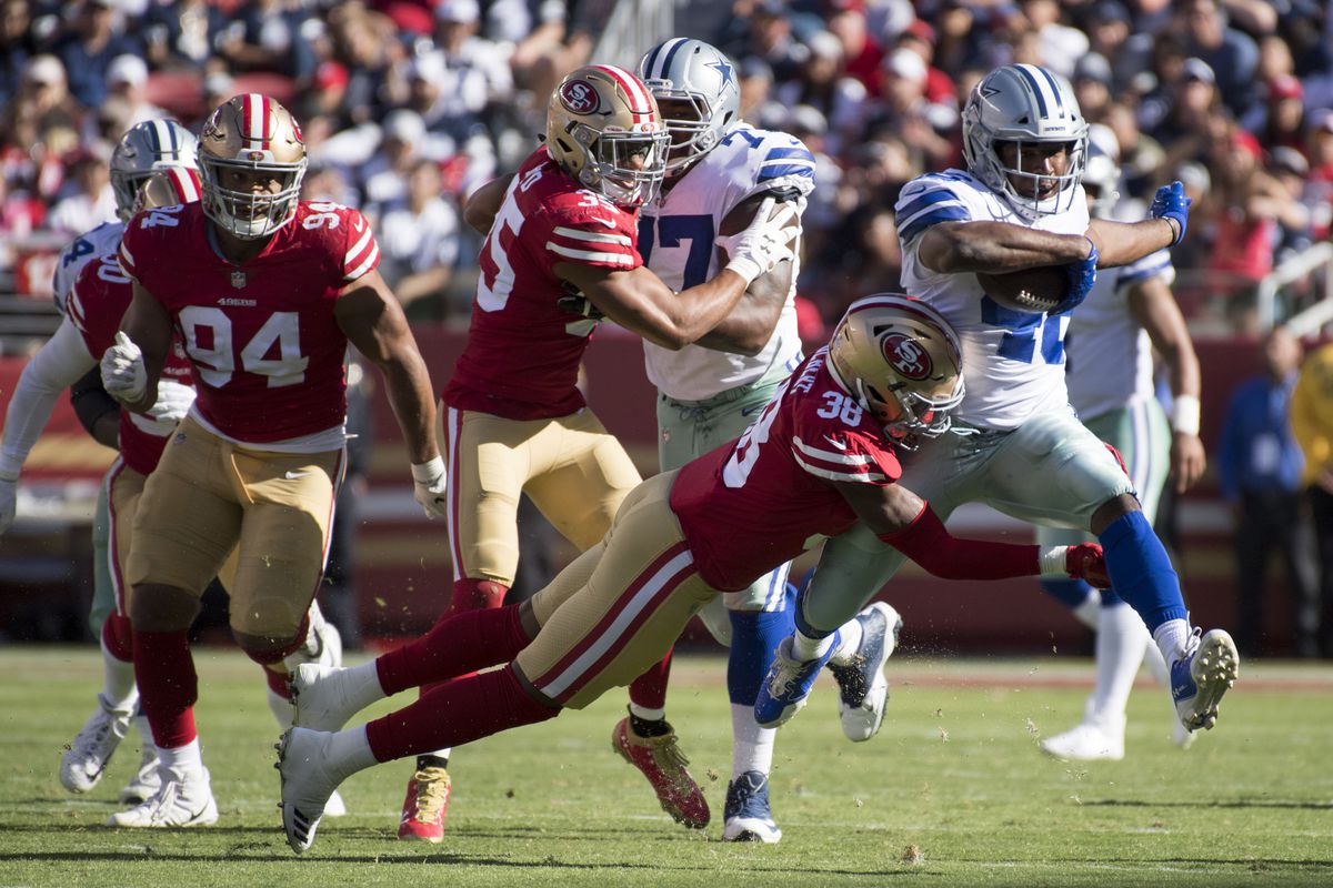 Falcons anticipate Ezekiel Elliott in the backfield for Week 10 clash