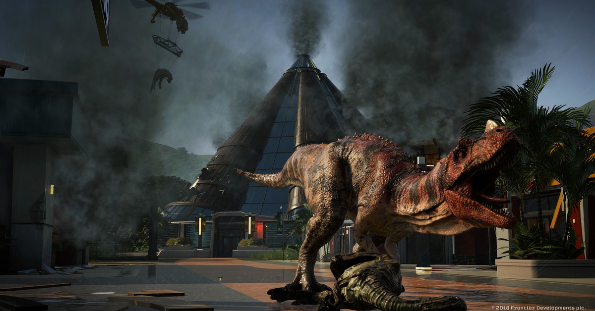Jurassic World Evolution Video Game Tie In Is The Park