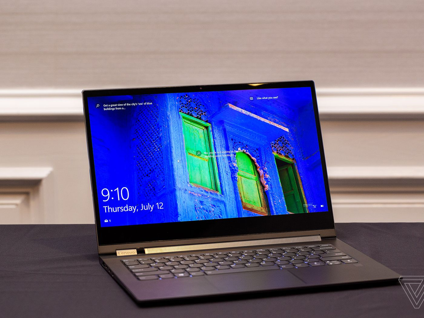 Lenovo S Yoga C930 Laptop Puts A Speaker In The 360 Degree Hinge The Verge