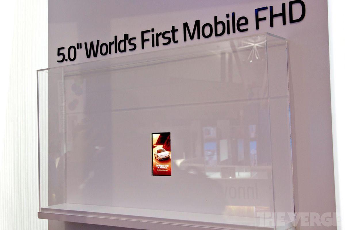 Gallery Photo: LG 5-inch 1080p prototype display photos