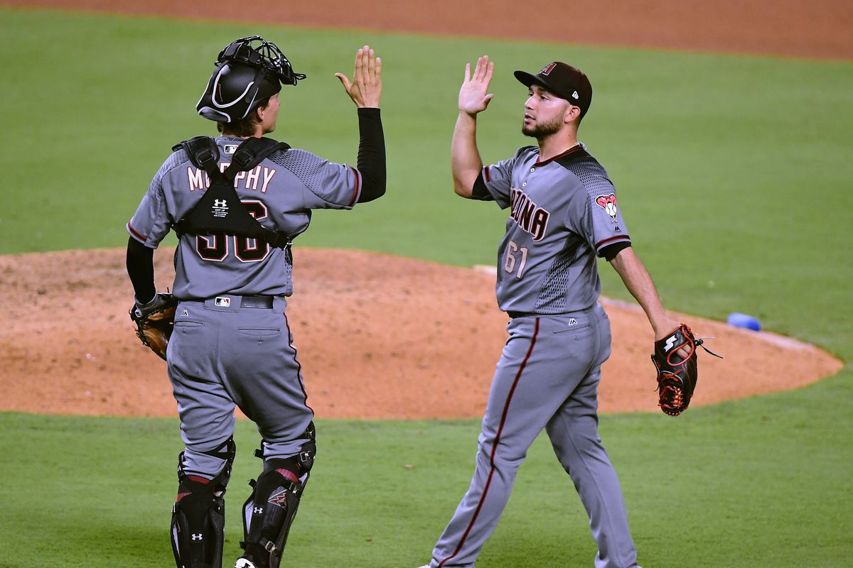 Diamondbacks trail for first time in 98 innings - SBNation com