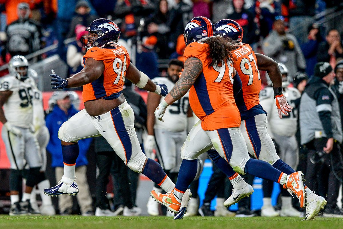 Is the Broncos' D-line in trouble next season?