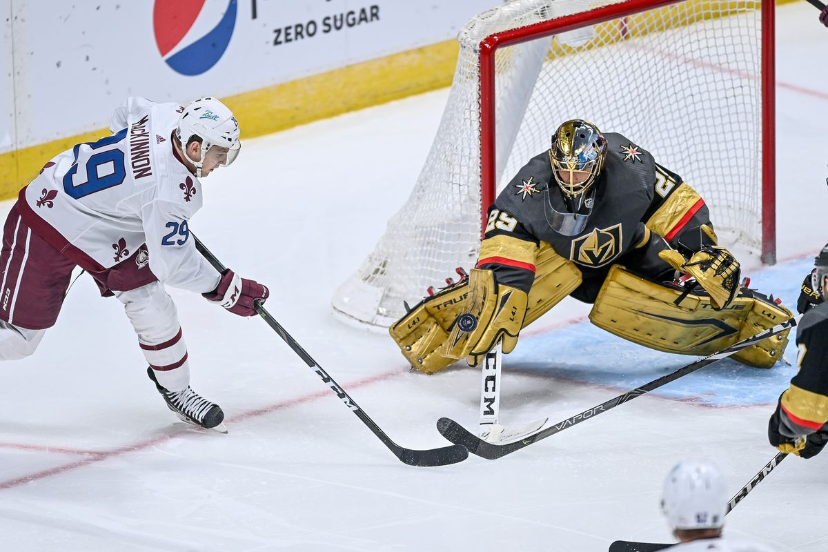 NHL: FEB 22 Golden Knights at Avalanche