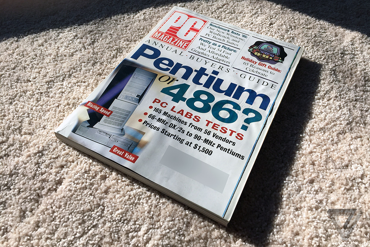 Home for the holidays, and for a 20-year-old issue of PC