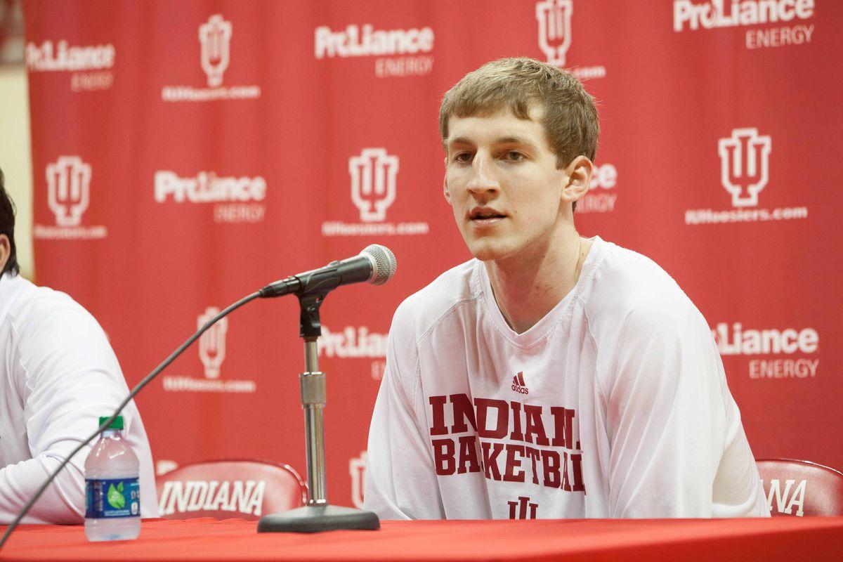 Cody Zeller, like his brother Tyler, looks like an overgrown high school kid.