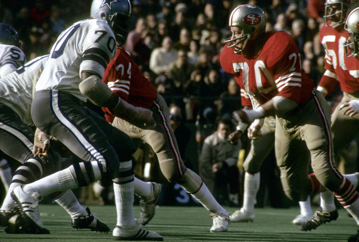 1972 NFC Divisional Playoff Game - Dallas Cowboys vs San Francisco 49ers - December 23, 1972
