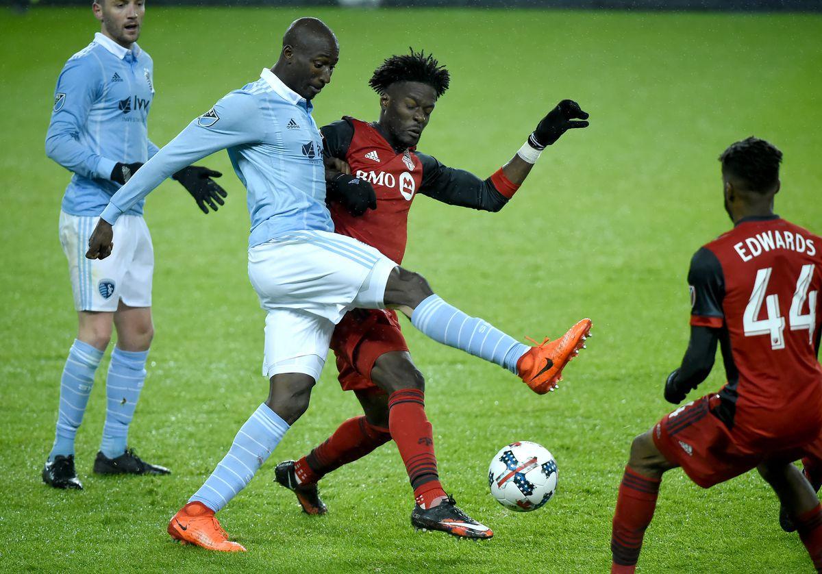 MLS: Sporting KC at Toronto FC