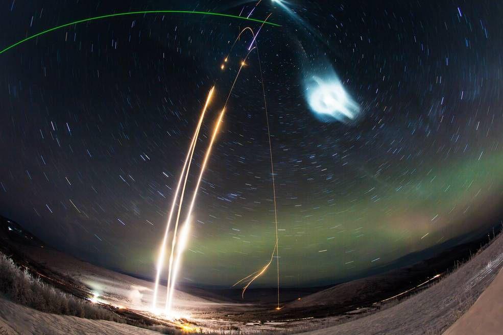 Photo de l'expérience de nuage Super Soaker de la NASA