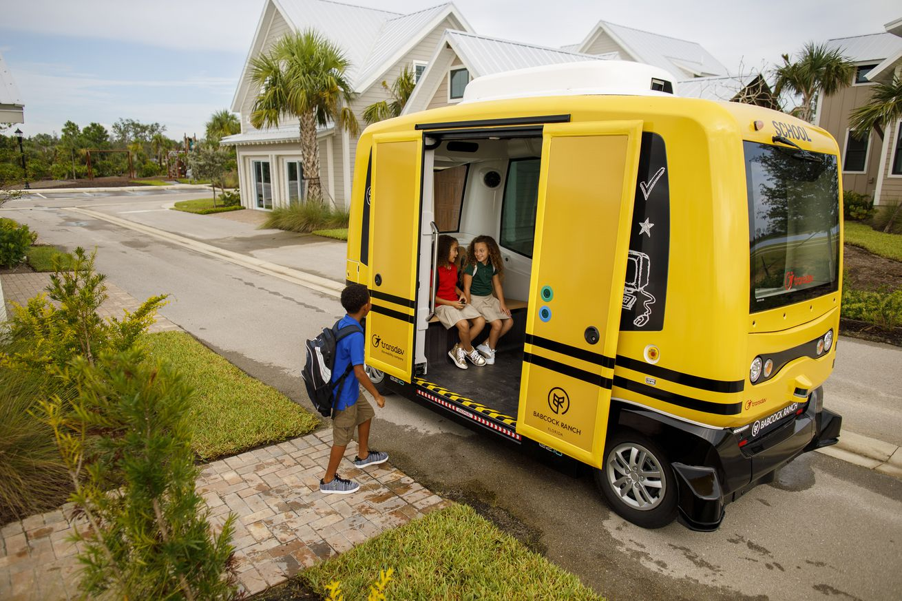 self driving school bus project shut down by the government