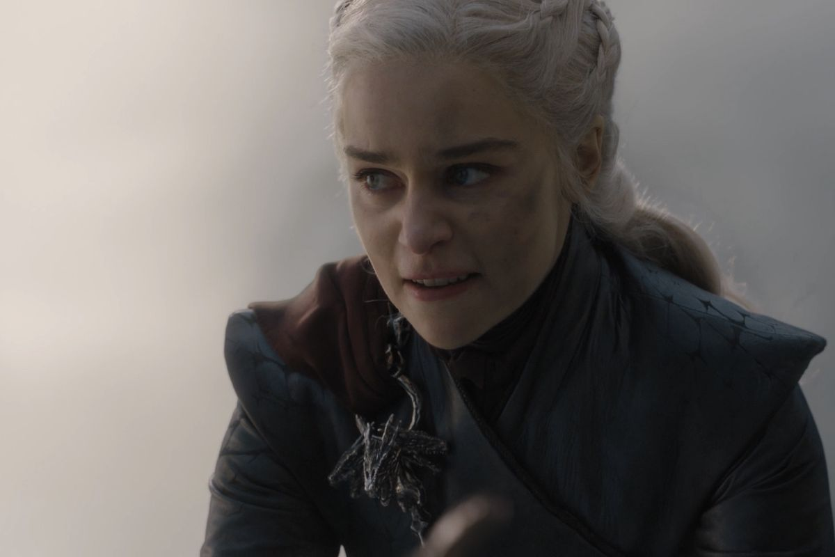 daenerys and drogon destroy king's landing in game of thrones