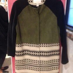 Morgan Carper coat, $150