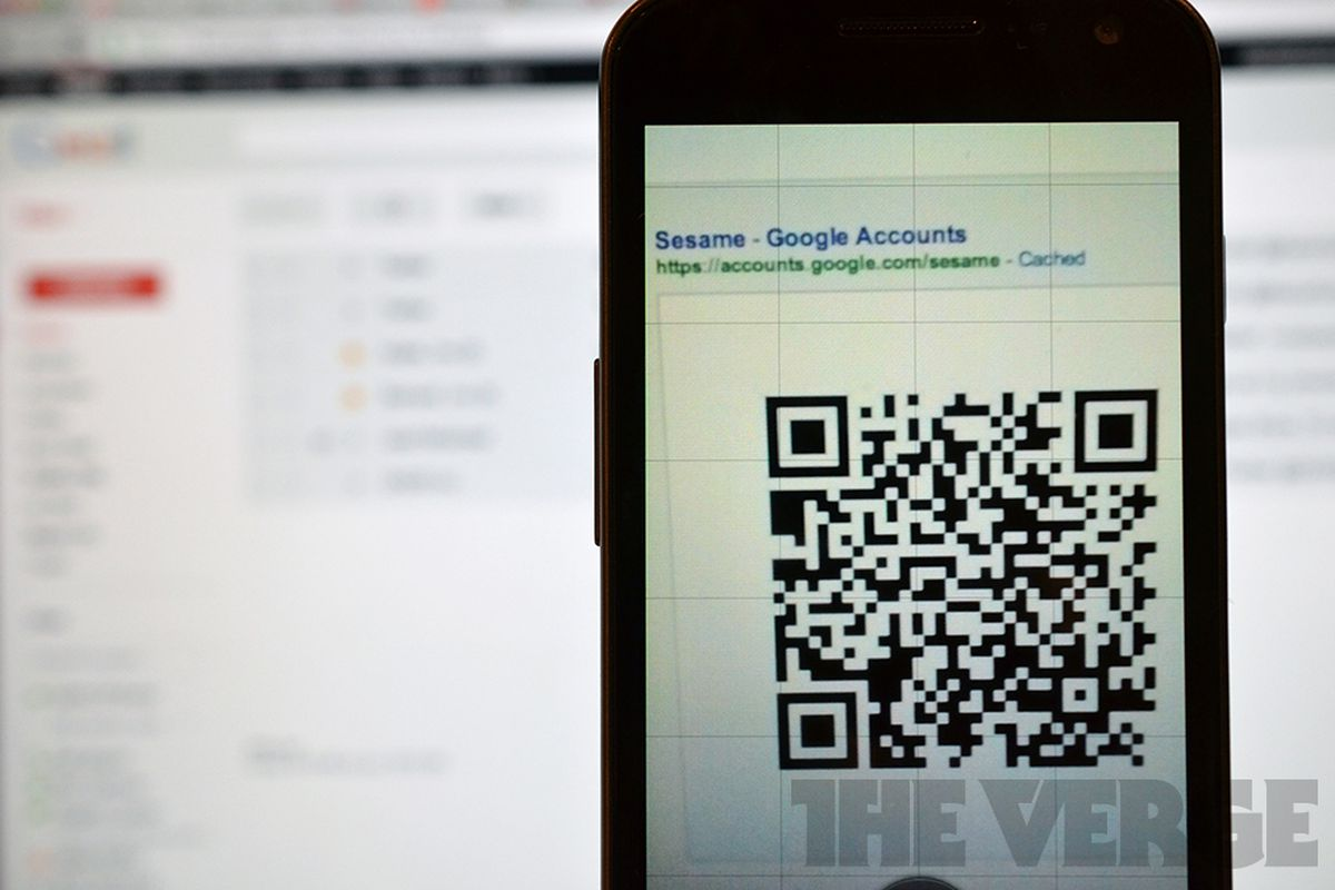 Google QR Code login