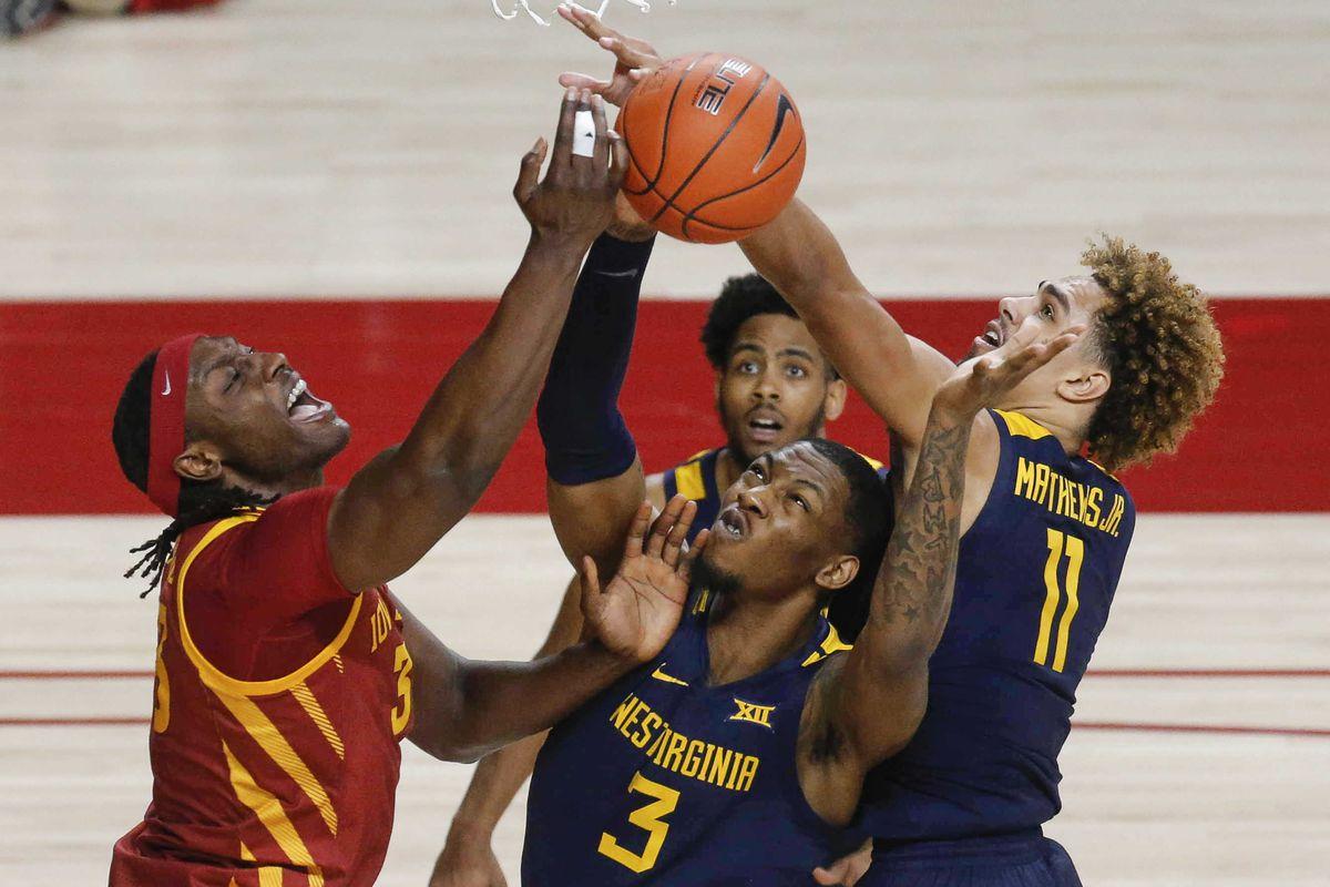 NCAA Basketball: West Virgina at Iowa State